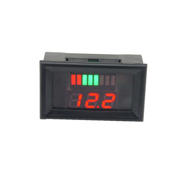 12-60V 12V/24V Lead-Acid Battery Capacity LED Indicator Digital Voltmeter Tester Voltage Current Meters  Electronic  Module Home Automation Modules