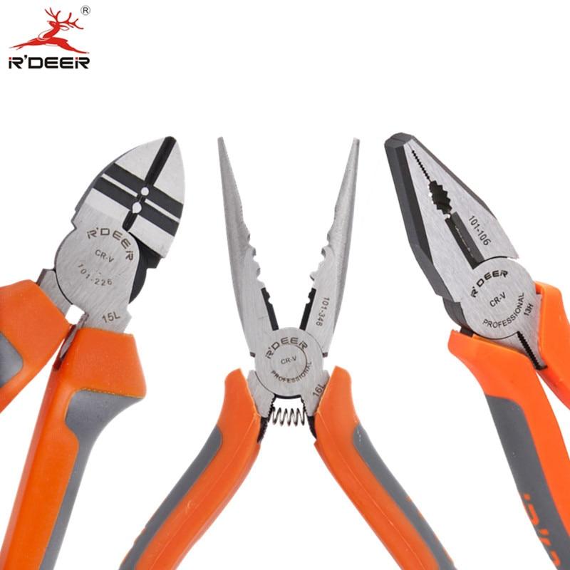 """Pinze da taglio RDEER 6 """"/ 150mm Strumento di serraggio Multitool per il taglio dell'utensile di riparazione dell'elettricista di piegatura 1PC"""