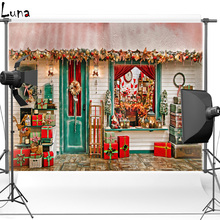 Gift Vinyl Photography Background Backdrop For Kids Christmas Oxford Children photo studio Props 2626