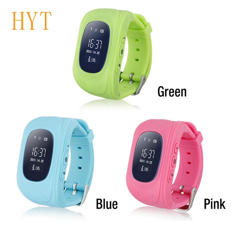 Q50 GPS Tracker Watch For Kids SOS GSM Mobile Phone App For Android Emergency Anti Lost