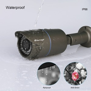 Image 3 - Techage H.265 أمن الوطن 4MP POE IP كاميرا في الهواء الطلق 2.8 مللي متر 12 مللي متر بمحركات التكبير عدسات أوتوماتيكية كاميرا تلفزيونات الدوائر المغلقة الأشعة تحت الحمراء للرؤية الليلية P2P Onvif