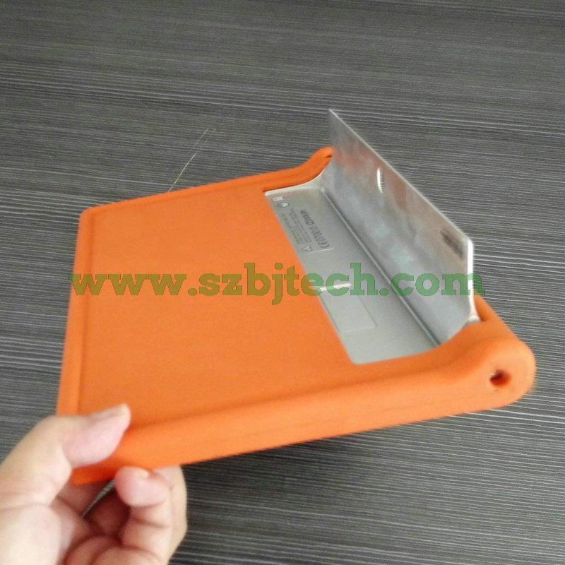 MingShore Kapak Için Lenovo Yoga Tab 2 10.1 1050 Silikon Sağlam - Tablet Aksesuarları - Fotoğraf 5