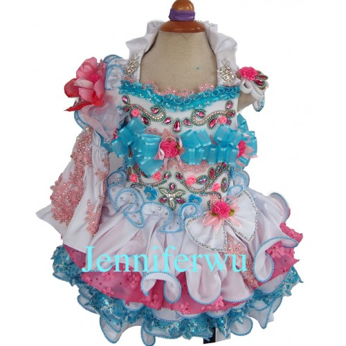 one removable sleeve flower girl dresses and baby girl clothes   girl party dresses children baby dresses  G289-1