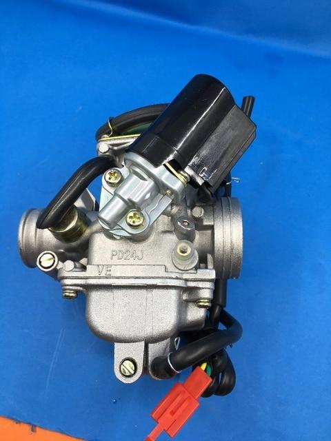 Carby carburetor fit for GY6 150CC PD24J Carburetor Motorcycle Scooter ATV  Gokart QMJ/QMI157 QMJ/QMI152