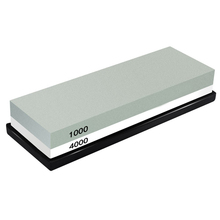 Hot sale Whetstone Sharpening Stone 1000/4000 Grit - Knife Sharpener Waterstone Rubber Holder Included