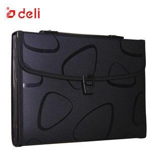Image 5 - Deli A4 Size Folder Document Bag Expandable Filing Storage Document File Folder Organizer Expander Holder Bag Business Briefcase