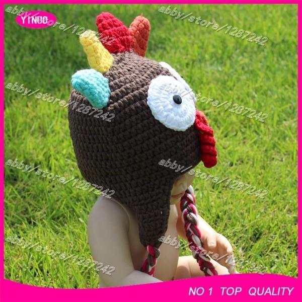 8a5d2abb9f1 5pcs lot New Zealand Best selling crochet baby santa hat turkey knitting  pattern hat toddler hats-in Hats   Caps from Mother   Kids on  Aliexpress.com ...