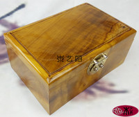 Gold Phoebe old material treasure chest jewelry box red wood carving furniture business gifts ornaments wedding ornaments 20151