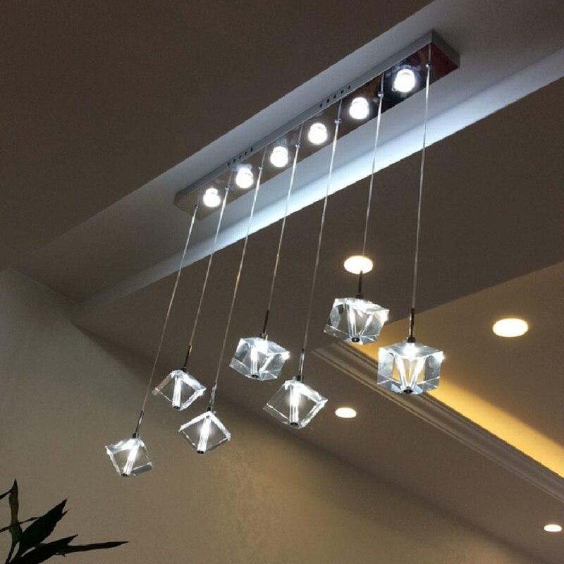 Modern Led Cyrstal Chandelier For Dining Room,Simple Originality Lustre For Home Lighting,Living Room,110V 120V 220V