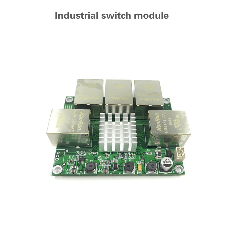 Image 3 - Industrial grade mini micro low power 3/4/5 port 10/100/1000Mbps RJ45 Gigabit network switch module gigabit   network switch-in Network Switches from Computer & Office