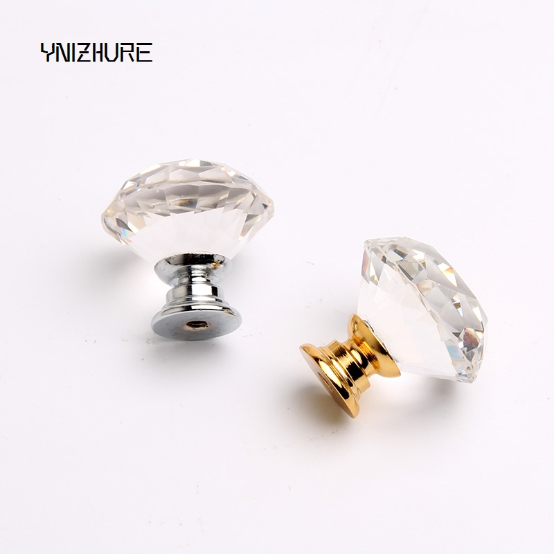 2019 Hot Sale Freeshipping 1pcs 30mm Clear Diamond Shape Crystal Glass Pull Handle Cupboard Cabinet Drawer Door Furniture Knob 2019 Hot Sale Freeshipping 1pcs 30mm Clear Diamond Shape Crystal Glass Pull Handle Cupboard Cabinet Drawer Door Furniture Knob