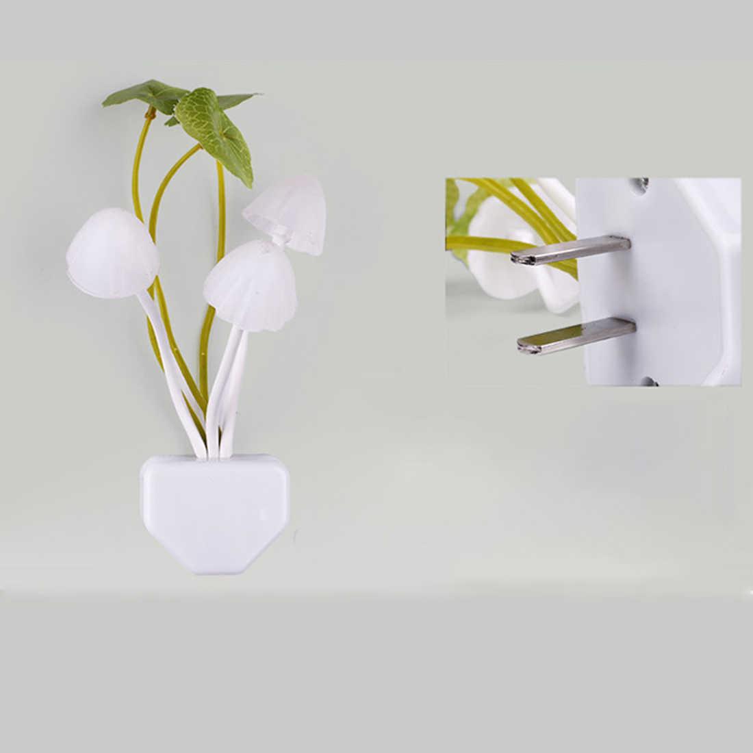 Светодиодный грибовидный декоративный ночник с датчиком, лампа для ЕС, США, для детей, новинка, беспроводной настенный ночник-прожектор