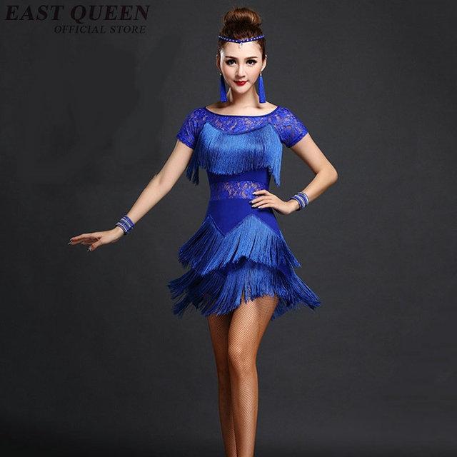 Latin Dance Kleid Frauen Salsa Tanzkleider Latin Dance Kostume Fur