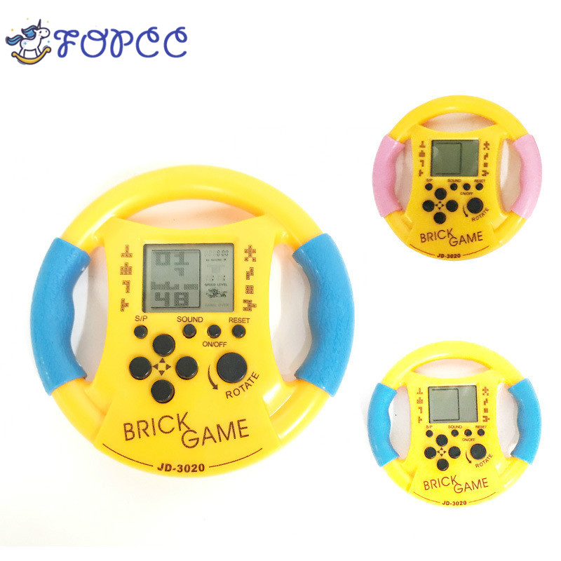 New Steering Wheel Grip Child Handheld Game Machine Parent-Child Interactive Game Toys Cultivate Child Thinking Ability Toys