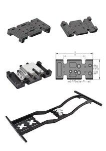 Image 5 - 1/10 RC מתכת תיבת הילוכים העברת מקרה הר מחזיק עבור צירי SCX10 D90 D110