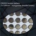 NOVO 10 PÇS/LOTE Alta qualidade bateria botão CR2032 3 v Bateria de Lítio-manganês dióxido é apropriado para brinquedos, produtos eletrônicos