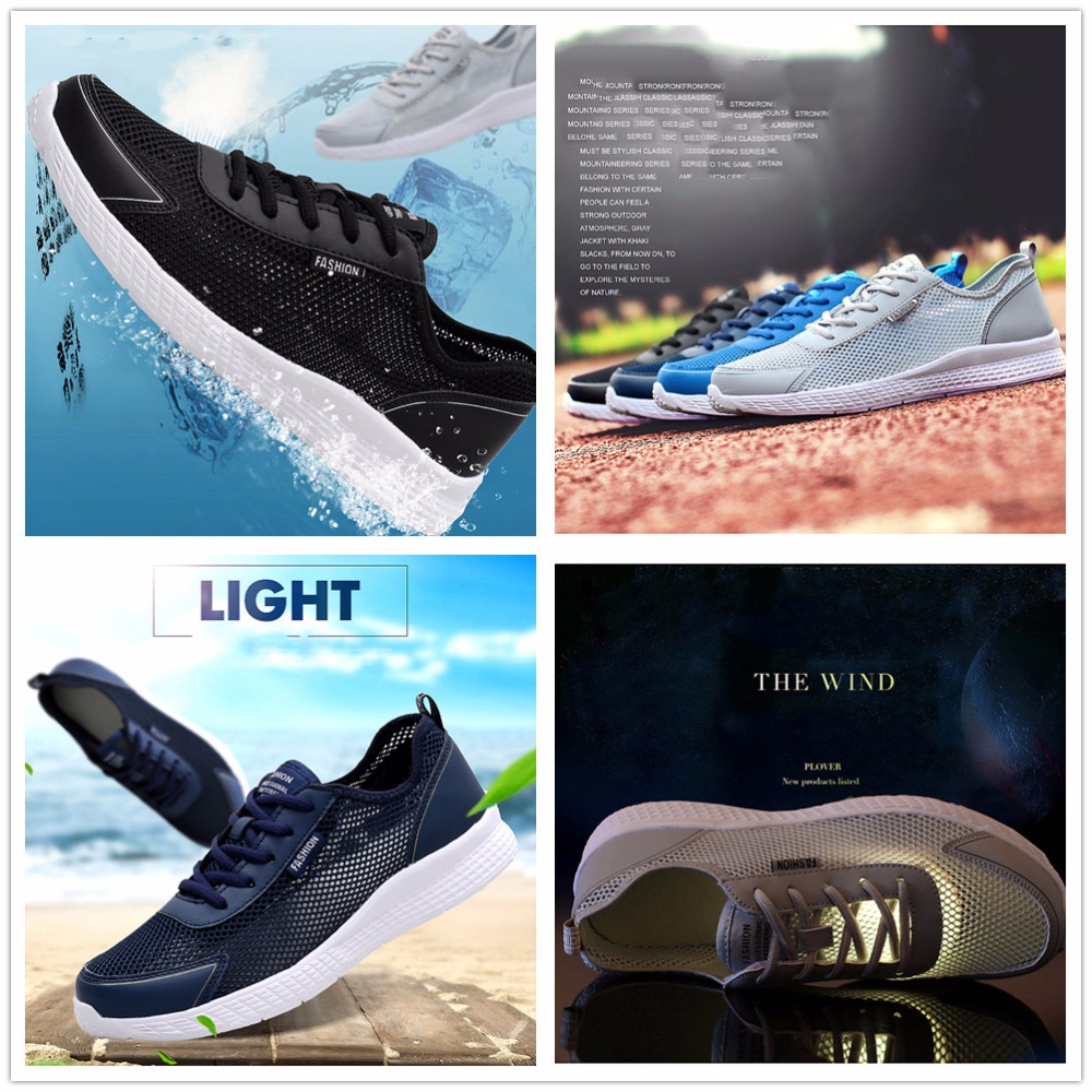 Fires Large Size Men Sneakers Summer Running Shoes Sports Lightweight Black  White Male Outdoor Walking Zapatillas Training Shoes-in Running Shoes from  ... 5ee2c5d7ff26