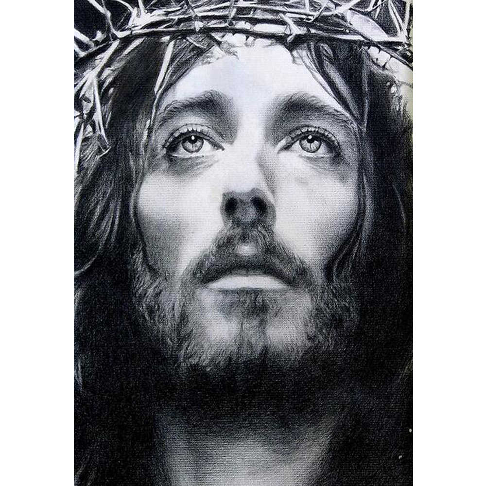 "Full Diamond Embroidery 5D DIY Diamond Painting ""Religion Series jesus"" Cross Stitch Picutre Of Mosaic Craft Home Decor YU919"