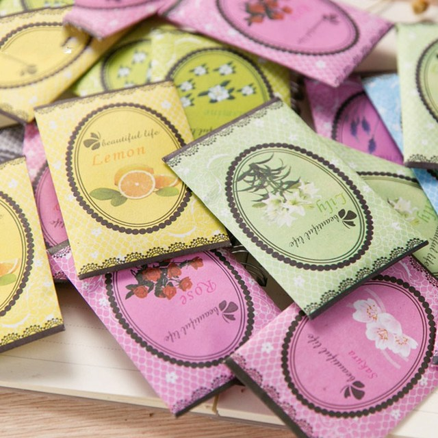5 pz/lotto Ambientadores Aromatizador Naturale Aromaterapia Bustine Guardaroba M