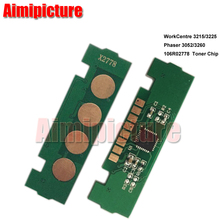 3215 3225 106R02778 Toner Chip For Fuji Xerox  3215 3225 3025 3052 3260 Toner Cartridge Chip 3K 10pcs/lot