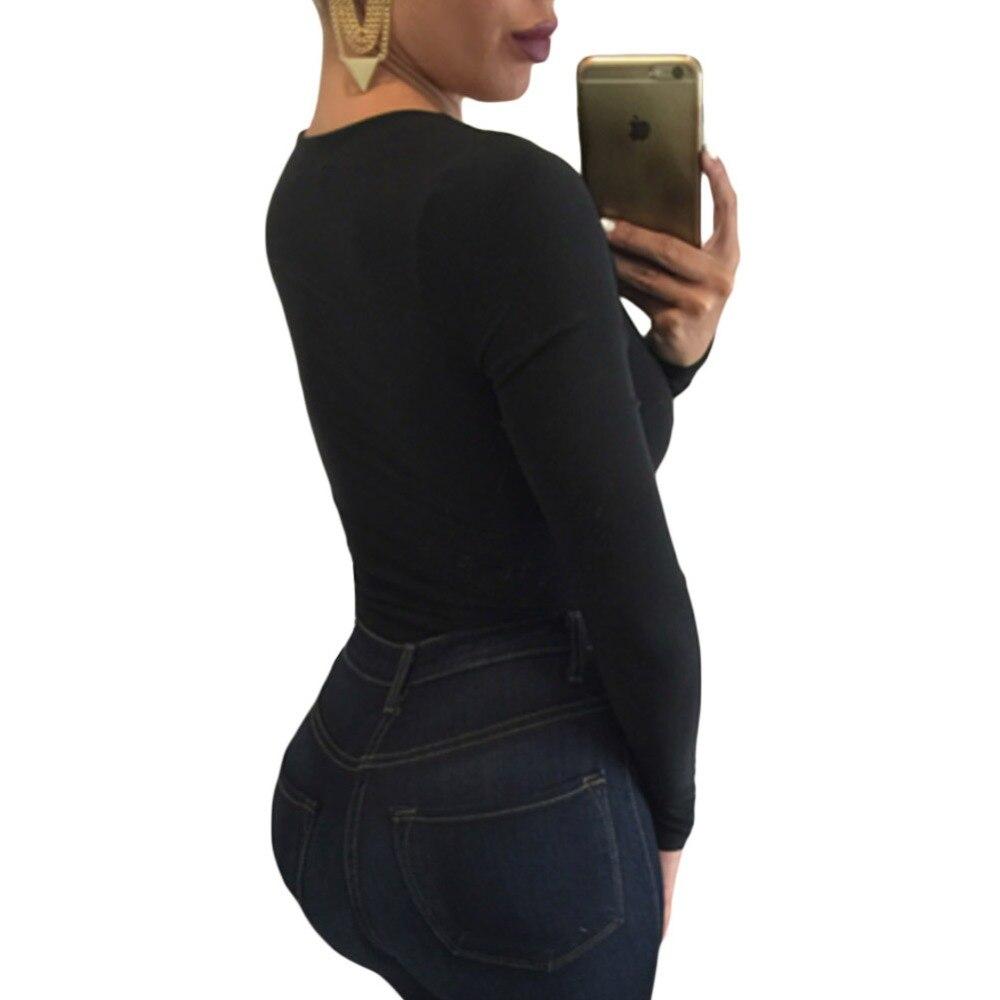 6778af1e3ac1 FGirl Bodysuits Women Romper Plunge V Neck Long Sleeve Bodysuit Sexy Lace  Women Bodysuit Top FG21593-in Bodysuits from Women s Clothing on  Aliexpress.com ...