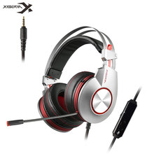 XIBERIA K5 Gaming Headphones with Mic USB 7.1 Sound/3.5mm noise cancelling Best Game Headset for PC Gamer PS4 Xbox one Laptop gaming headset gamer usb wired with noise cancelling microphone game headphones surround stereo for pc xbox one laptop computer