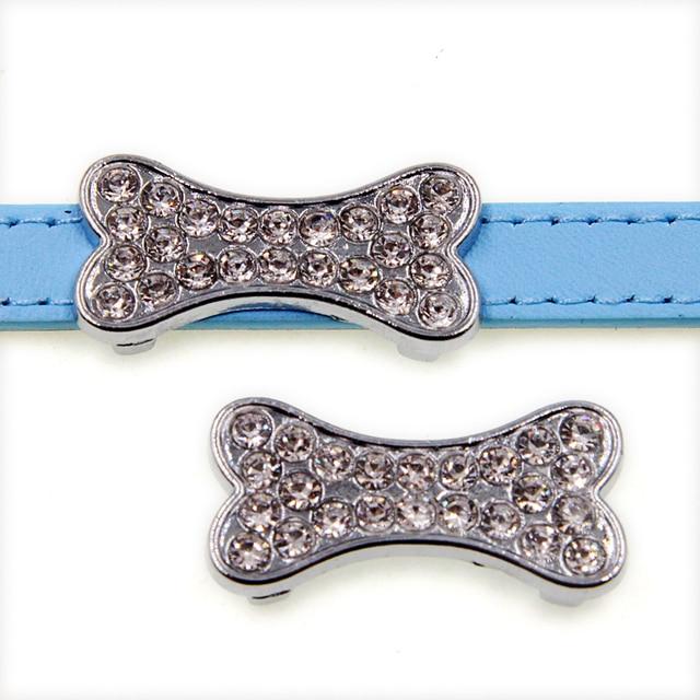 Dog bone 10pcs 10mm Slide Charms SL508 Fit 10mm Pet Collars Wristbands  Belts key chain wholesales Updated 3f65e3b731db