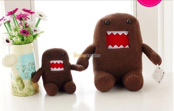 Fancytrader Novelty Toy! 20\'\' 50cm Super Cute Plush Soft Stuffed Big Mouth Domo Kun, Free Shipping FT50824 (5)