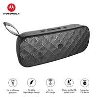 Motorola Bluetooth Speaker Sonic Play+ 275 with FM Radio MicroSD Card Playback Build in Mic IP54 Waterproof Portable Speaker