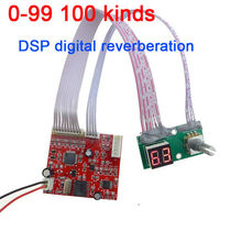 0 99 100 kinds of effect DSP digital reverberation module Cara OK board mixer