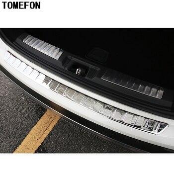 TOMEFON для Infiniti QX30 2017 ВНУТРЕННИЙ Задний бампер из нержавеющей стали отделка багажника педаль бампера 2 шт. авто Интерьер Стайлинг Аксессуары >> auto1 Store