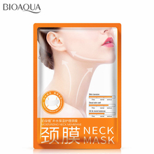 5PCS/lot Collagen Neck Mask Whitening Anti-Aging Firming Neck