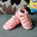 LSK High Quality Lovely Gladiator Jelly Shoes Girls Boys Leisure Sandals Girls Cartoon Shoes 2016 Brand New Children Sandals