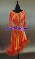 Hot Sale Rumba Jive Chacha Ballroom Latin Dance Dress Girls Women Women Or Girl Skirt Latin