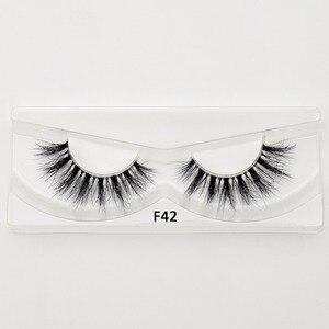 Image 5 - Visofree Mink Eyelashes Clear Band Eye Lashes Crisscross Transparent Band False Eyelashes Handmade Dramatic Lashes Upper Lash