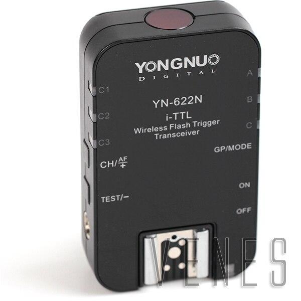 YN622N i-TTL Wireless Flash Trigger Transceiver 1/8000s Suit for Nikon Camera D7200 D5500 D750 D810 D5300 D3300 Df D610 цены онлайн