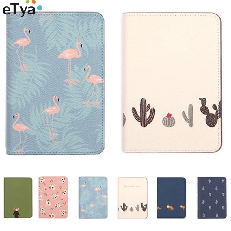 eTya Fresh Flower Animal Passport Holder Passport