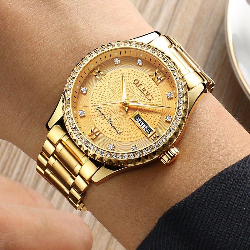 Watches Luxury Golden Business