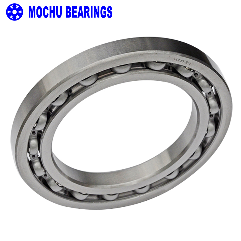 1pcs Bearing 16021 7000121 105x160x18 MOCHU Open Deep Groove Ball Bearings Single Row Bearing High quality 6007rs 35mm x 62mm x 14mm deep groove single row sealed rolling bearing