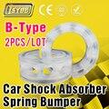 2 x Auto del coche b-tipo muelle del amortiguador Bumper poder Buffer especial venta al por mayor envío gratuito