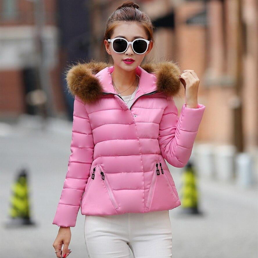 все цены на  Cotton-padded Jacket Slim Down Padded Short Section Women Coat Down Padded Woman Winter Warm Coat Winter Woman Jackets  онлайн