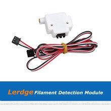 1pc 3D Printer Parts 1.75mm/3mm Filament Detection Sensor Module For Lerdge Board