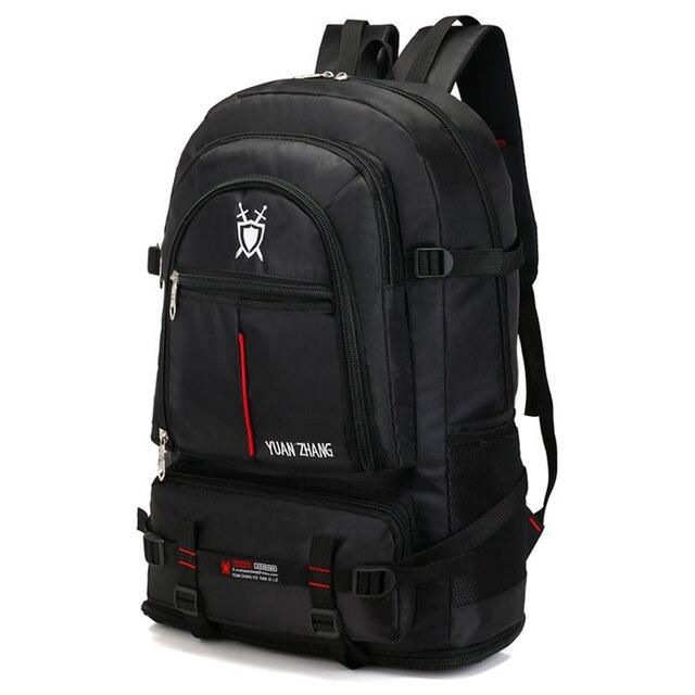 Imperméable à leau 70L unisexe hommes sac à dos voyage pack sac de sport pack en plein air escalade alpinisme randonnée Camping sac à dos pour homme