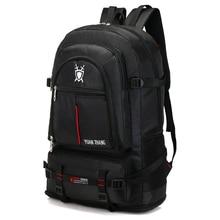 Su geçirmez 70L unisex erkekler sırt çantası seyahat paketi spor çantası paketi açık tırmanma dağcılık yürüyüş kamp sırt çantası erkek