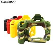 CAENBOO D750 D7000 kamera çantası Yumuşak Silikon Kauçuk Koruyucu Vücut Kapak Kılıf Cilt için Nikon D7100 D7200 D600 D610 D5100 D5200