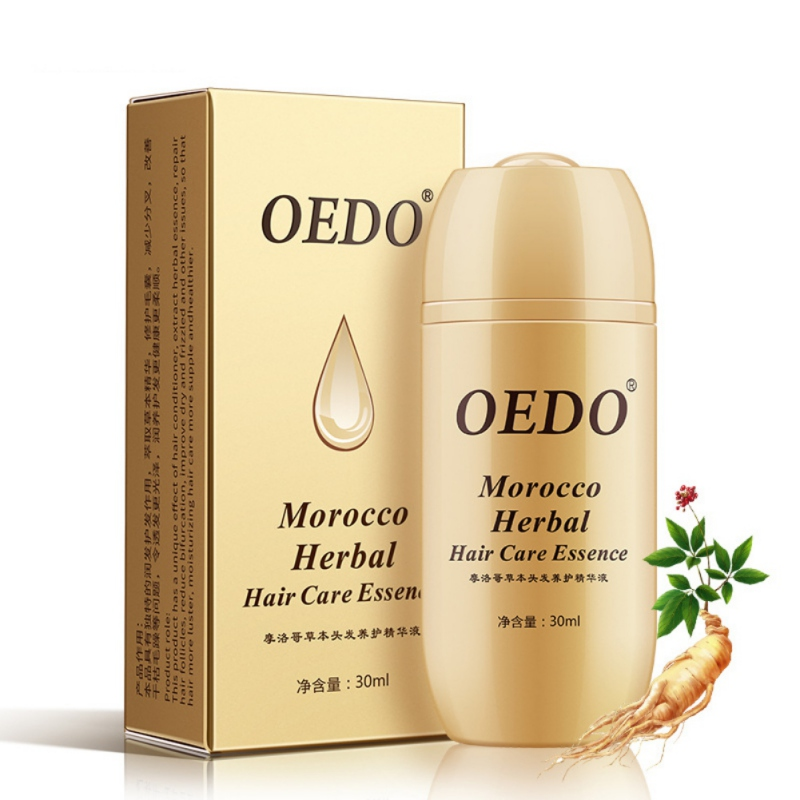 30ml Powerful Morocco Herbal Ginseng Hair Care Essence Treatment For Men And Women Hair Loss Fast Hair Growth Serum 2019