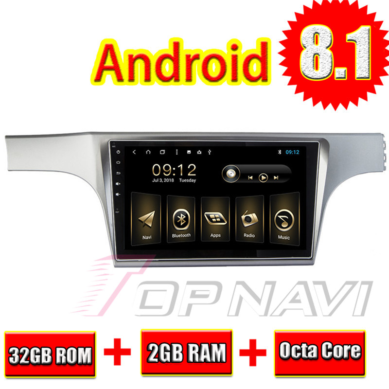 Auto Radio Tuner for VW Lavida 2012 10.1'' Android 6.0 Topnavi Car Head Unit Audio GPS Navigation with Free Map Software update