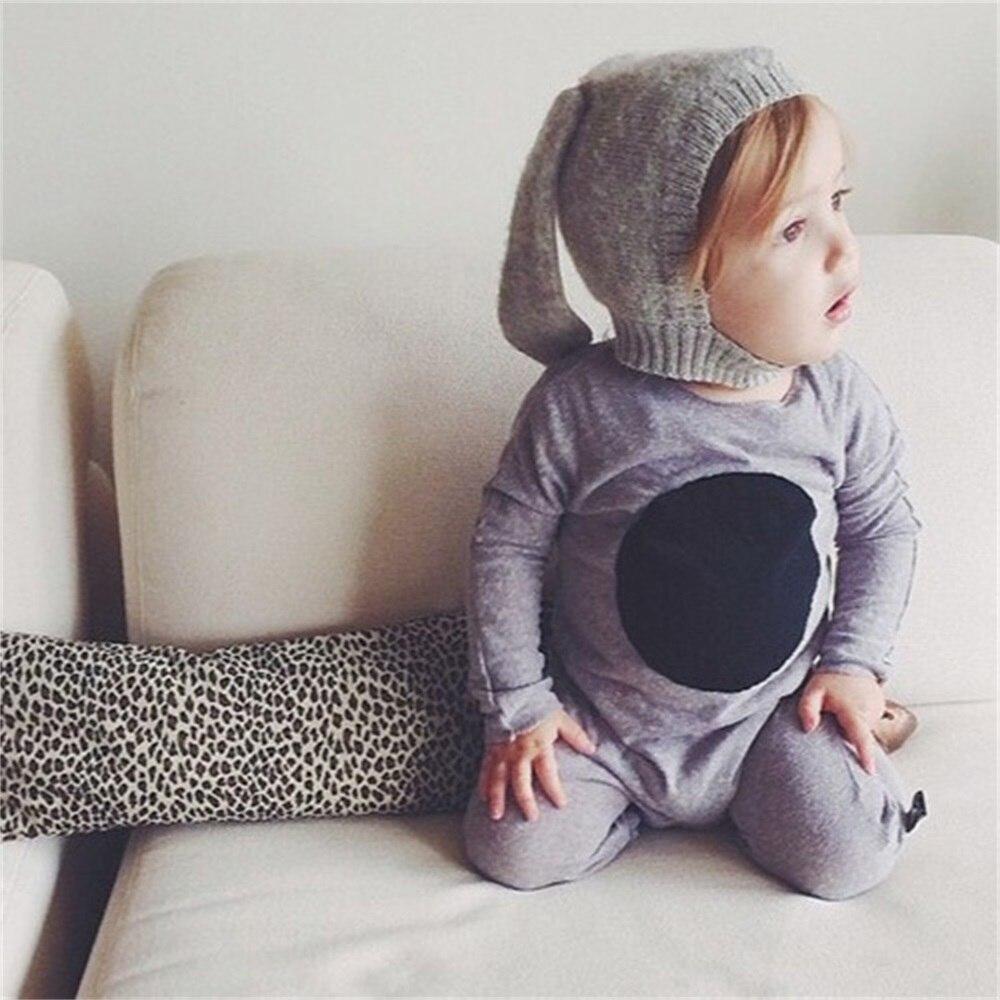 EASY BIG 0-24Months pavasario rudenį triušio ausys kūdikių - Kūdikių drabužiai - Nuotrauka 2