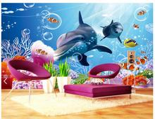 Customized 3d photo wallpaper wall mural 3 d sweet children room background paintings living