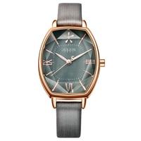 Top Julius Brand Woman Watch Rose Gold Dress Lady Leather Quartz Watch Girl Watches Clock Creative